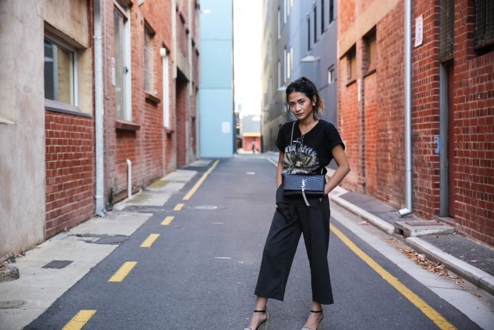 How I style: Trouser culottes