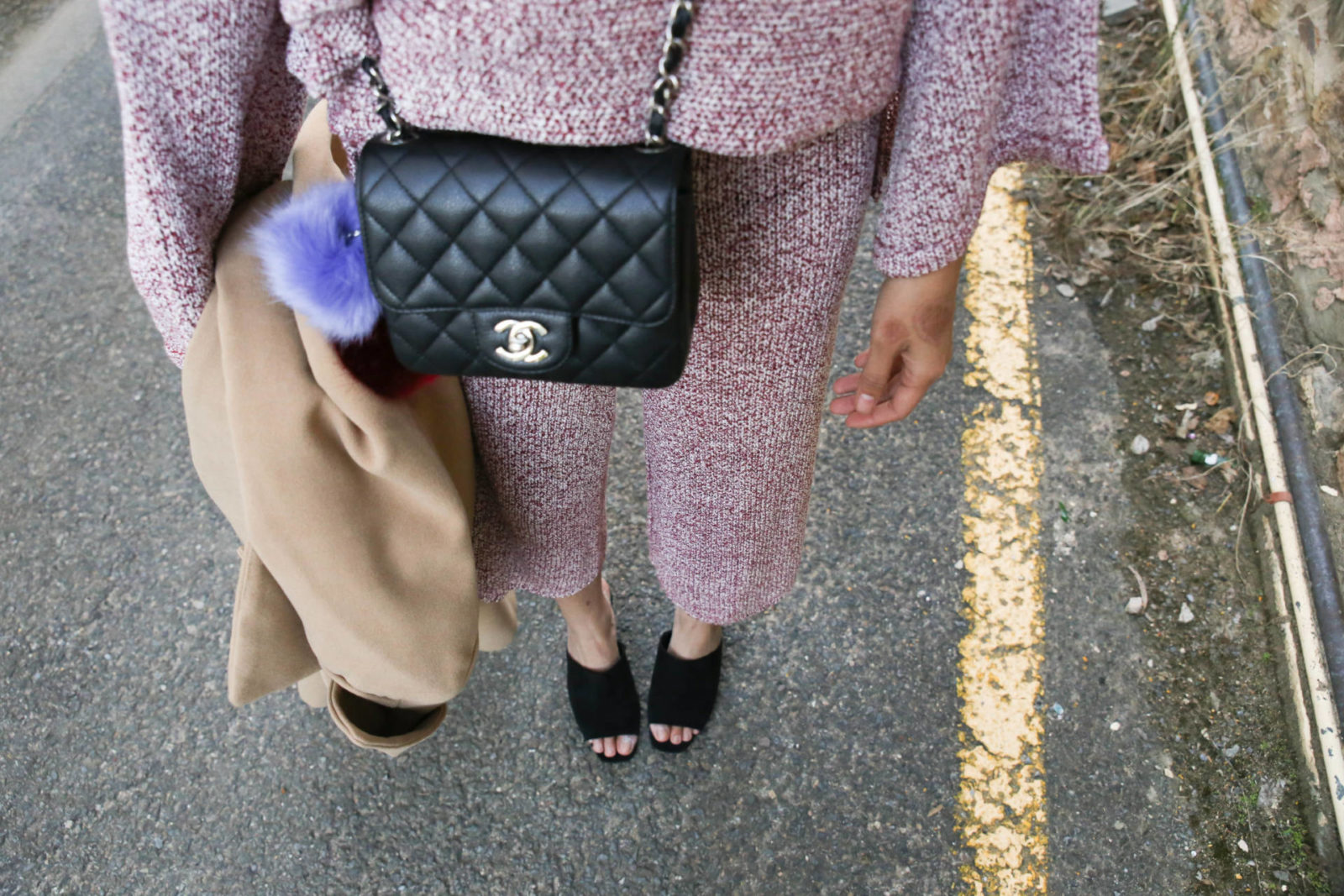 chanel mini knit coord-90