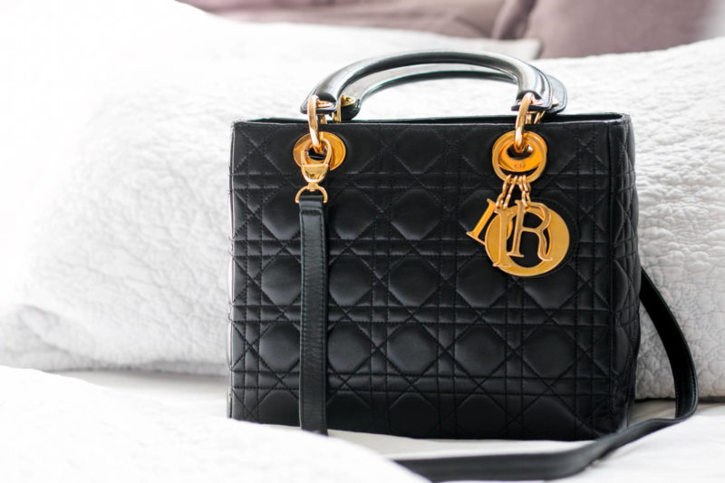 c2b8d2762 Lady Dior handbags are one of the best handbags to purchase second-hand  because of it's lower resale value on the preowned market.