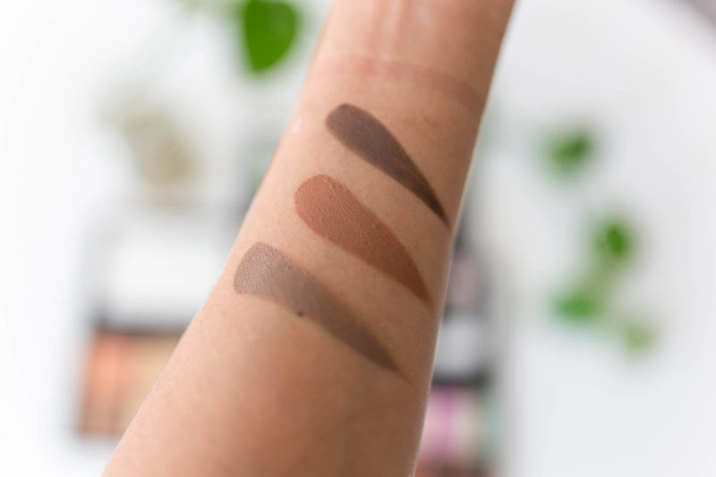 Millenial Girl Palette (top to bottom) - Donna, Louise, Lucille
