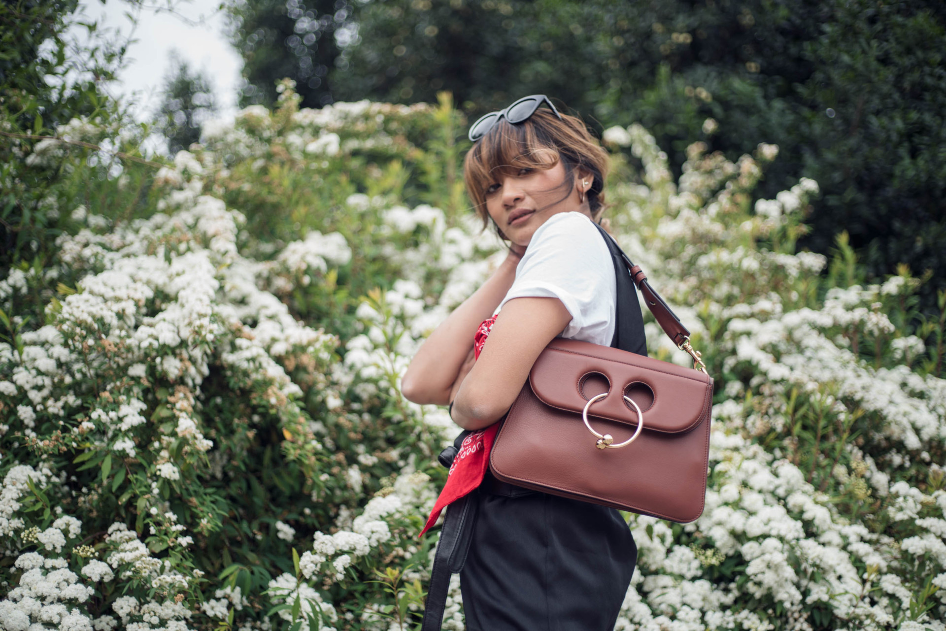 Slipping out of the comfort zone | J W Anderson Pierce Bag